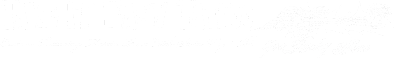 Take It Easy Tattoo Logo